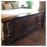 Ornate King Bed (Head/Foot Boards)
