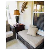 La-Z-Boy Long Ottoman/Bench with Cushion - $195