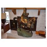 Bronze orientalist sculpture large