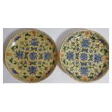 chinese enamel plates mark