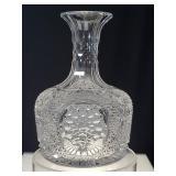 American brilliant period cut glass  carar