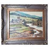 listed impressionist landscape