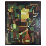 Charles Remnick Cubism painting