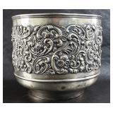 Sterling silver pot