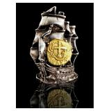 Gold Coin Atosha Ship