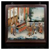 18-19 c chinese reverse painting