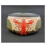 Lobster bowl 19th c