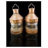 Copper Ships Lanterns