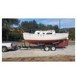1978 Pacific Sea Craft Boat Flicka 20