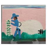 Clementine Hunter (American/Louisiana, 1886-1988) Paint