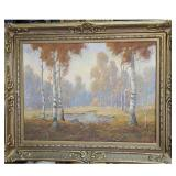 Oil On Canvas Landscape painting Early 20th C