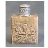 Antique French Tea Caddy