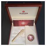 Limited Ed. Aurora Fountain Pen Leonardo da Vinci 18K