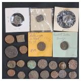 A Grouping Of Ancient Antique Coins