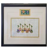 Framed Hard Rock Cafe Collectible Pins Limited ED