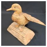 A Fine Vintage Duck Decoy
