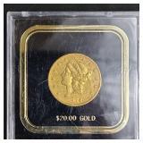 1902-S 20 dollar Liberty Head gold coin