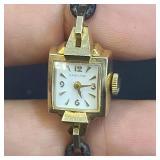 14k Gold Hamilton Ladies Watch