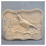 A Vintage Tiffany Studio Bronze belt Buckle
