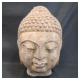 Antique Asian Stone Buddha Head 1 of 3