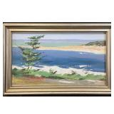 California Coast Plein Air Seasonal Landscape Painting