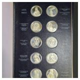 Treasures of the Louvre 50 Sterling Silver Medals