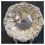 275 Grams Of Alvin Sterling Silver Bowl ACORN Design