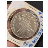 1810 US half Dollar Bust Superb Condition EST MS63