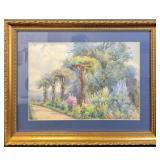 Authentic Original Watercolor By R Atkinson Fox
