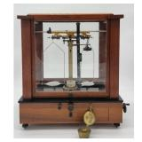 Antique Early Balance Scale Complete Seederer Kohlbusch