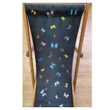 Damien Hirst B.1965 British Butterfly Deckchair