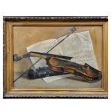 Martin Johnson Heade Oil On Canvas