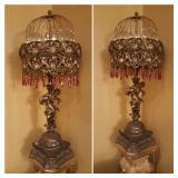 Bronze lamps