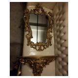 Super large antique mirror