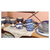 Flow Blue Dishes