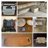 Lawrence Twp Estate Sale Auction. Teak Furniture, Lenox, Mikasa, vintage items and new. Must See!