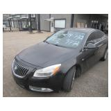 2011 BUICK REGAL CXL, 2.4 LITER, 108,007 MILES, BLACK LEATHER INTERIOR, SUNROOF AND MORE IN EXCELLEN