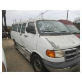 2000 DODGE RAM 3500 VAN, 5.9 V-8 MILEAGE, 89,524 MILES, ALL SEATS REMOVED, GREAT WORK VAN, COME AND