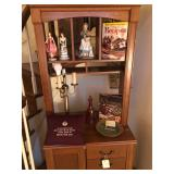 Hutch and collectibles