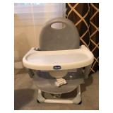 Chicco baby portable chair w/table