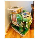 Large porcelain elephant stool from Vietnam