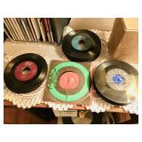 Lot of 55+ 45s records