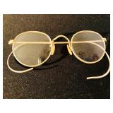Antique gold-filled Bausch & Lomb spectacles