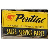 Porcelain Pontiac Sign