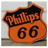 Porcelain Phillips 66 Sign