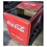 Coke Ice Chest Cooler
