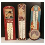 Coke Advertsing Thermometers Estate