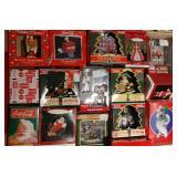 Coke Santa Christmas Ornaments