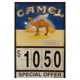Camel Cigarette Sign