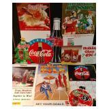 Lots of Coke Paper Advertising